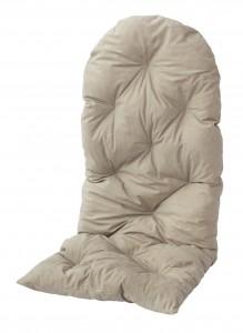 Poducha Na Fotel Bujany Duży Jasny Beż 120x50 70522